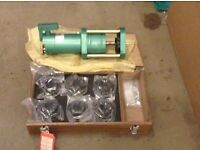 Swager / swaging machine with dies, new, never used.