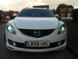 Mazda 6 TS2, 2.0L Diesel Pearl White Metalic