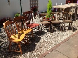 GARAGE CLEAROUT JOBLOT CHAIRS-can deliver