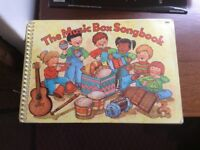 7 song books with music for young children. In good condition. Will sell individually if preferred.