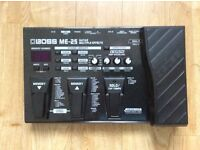 Boss ME 25 guitar effects pedal.