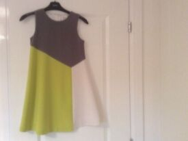 NEXT girls dress, fully lined, aged 10. Very good condition
