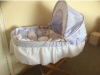 Baby mosses basket new