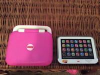 Fisher price computer and tablet
