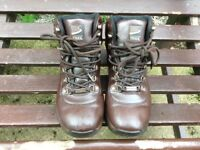 Walking boots, size 4, adult or child. Good condition.