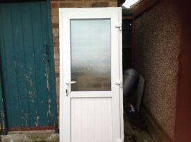 Upvc door used