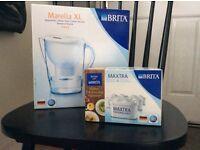 Brita Marcella XL water jug with filters