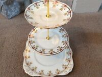 Royal Grafton Bone China 3 Tier Cake Stand.