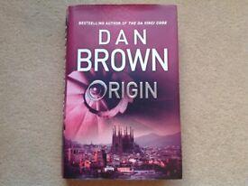 """DAN BROWN BOOK - """"ORIGIN"""""""