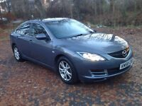 58 Mazda 6 2.0 TS 5dr Facelift Model, Met Grey, full years warranty' , MOT Sept' , service history