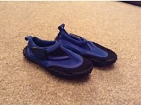 Child's beach shoes, size 5, only worn a couple of times, VGC,