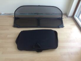 BMW 316 convertible wind shield complete with carry case