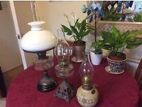 3.Antique Oil Lamps