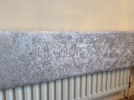 I have 3 x 8ft pelmets silver , black and grey