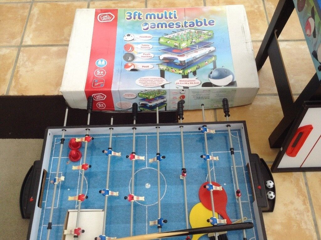 3ft multi games table