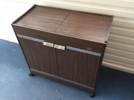 Philips Electric Mahogany Hostess Trolley