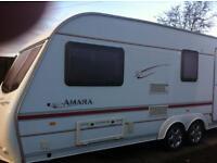2001 twin axle amara caravan