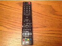 Jvc tv remote