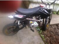 125cc pitbike new engine