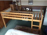 Raised Single Bed Frame (Excellent Condition)