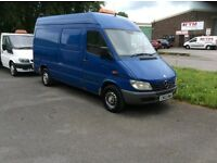 Mercedes sprinter 311 cdi mwb semi high roof.