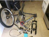 Numerous bike bits job lot offeres is a full bike amongst it