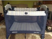 A Greco Travel Cot