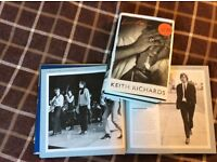 Rolling Stones Photographs book and Life Keith Richards Autobiography