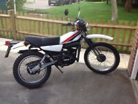 YAMAHA DT175 mx - 1980 (V Reg) Only 3 owners!!!!!