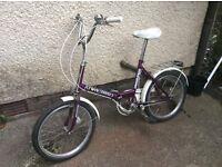 Bicycle, Folds away