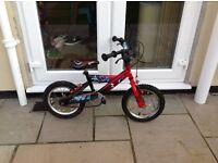 14 inch boys bike free to collect