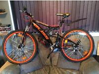 Men's 21 speed mountain bike, new (inboxed)