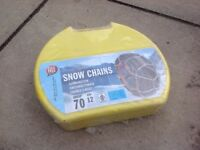 Snow tyre chains BNIB unused