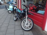 GILERA RCR 50cc COMES FULLY SERVICED.12 MONTHS MOT.DELIVERY CAN BE ARRANGED