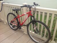 Boys 10/14yr Apollo bike nearly new hardly been used, bought for grandson when he visited