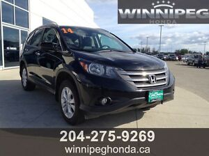 2014 Honda CR-V Touring. Local lease return, low kilometres, re