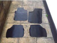 Vauxhall corsa floor matts rubber