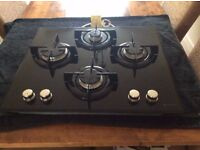 Hotpoint Gas Hob 18 months old very good condition.