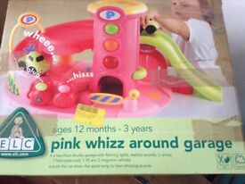 Early learning Centre pink garage