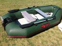 Boat , Alpuna nautic 285 inflatable rib/ & 4 hp yamaha outboard
