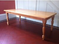 Solid Wood Large Coffee Table / Can Deliver