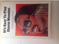 Stevie Wonder song book