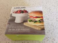 Lakeland Burger Press - brand new in box