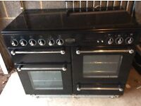 Rangemaster double oven ceramic hob , 5 place hob