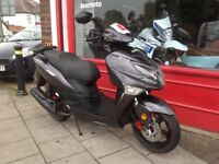 LEXMOTO FMX 125 SCOOTER IDEAL COMMUTER OR DELIVERY SCOOTER SERVICED DELIVERY CAN BE ARRANGED