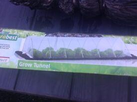 Plastic grow tunnel still in the box 5 m X 3 m