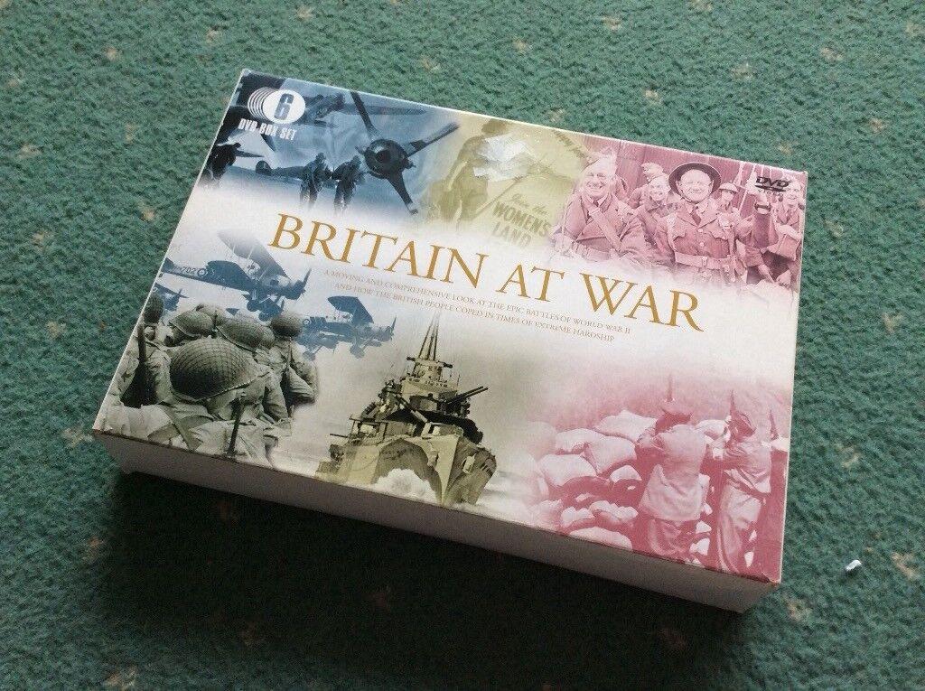 Britain at war 6 dvd box set