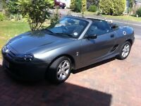 MGTF 115 Sports car 55 plate. NOW SOLD.