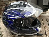 Stealth Motorcycle helmet LARGE
