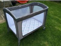 Mothercare baby travel cot